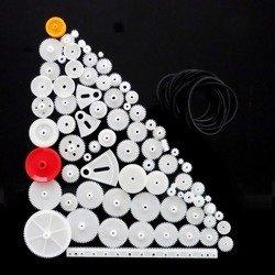 Wspaniały Koła zębate, zębatki plastikowe dla robotyków - Sklep ABC-RC RO06