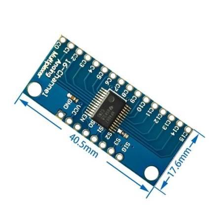 16-kanałowy analogowy multiplekser - CD74HC4067 - do Arduino