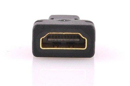 Adapter HDMI na Micro HDMI - wtyki GOLD - FULL HD