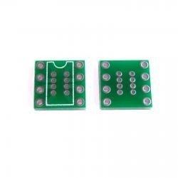 Adapter przejściówka DIP8 na SO8 - bez pinów