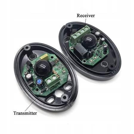 Bariera IR fotokomórka do bram 12-24V DC AC - Czujnik światła podczerwonego