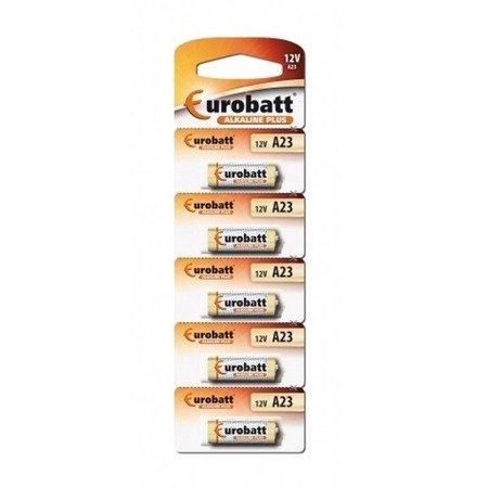 Bateria Alkaline A23 12V -  5 szt  - BP5 Eurobatt