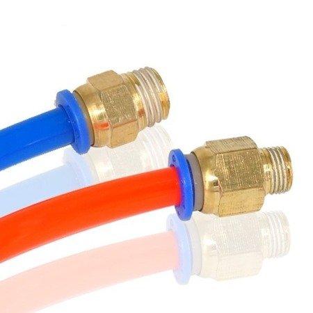 Bowden złącze - końcówka pneumatyczna PC4-M6 V2 - 4mm - Drukarka 3D