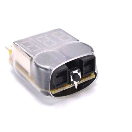 Buzzer LiPo 1-8S - precyzja 0,01V - High Quality - miernik napięcia z alarmem