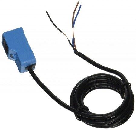 Czujnik indukcyjny zbliżeniowy prostokątny PNP NO - 4mm - 10-30 VDC - z przewodem - ROKO SN04-N
