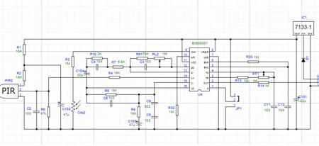 Czujnik ruchu micro PIR HC-SR505 - detektor ruchu do Arduino