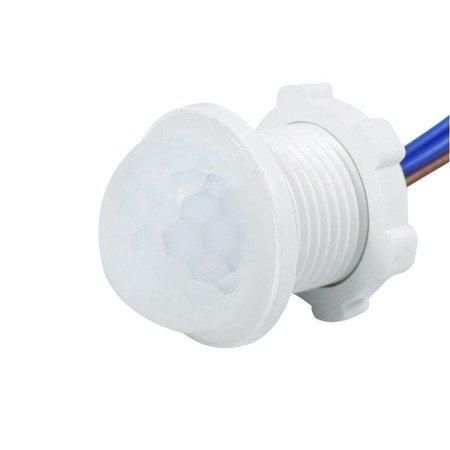 Czujnik ruchu na podczerwień PIR - 230V - 20mm - detektor ruchu - LED