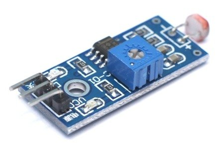 Czujnik światła - detektor światła na LM393 do Arduino i AVR - wyjście TTL
