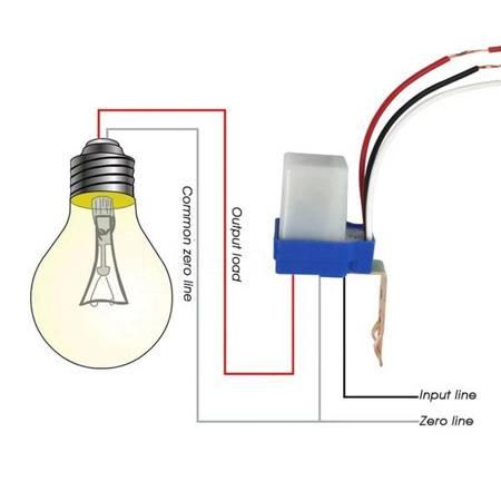 Czujnik zmierzchu - 230V AC - automatyczny przełącznik światła ulicznego z fotokomórką
