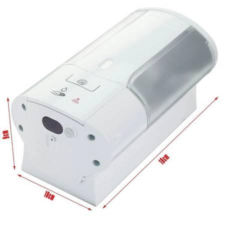 Dozownik automatyczny 450ml żelu i mydła - z czujnikiem optycznym # KOMIS