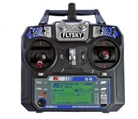 FlySky FS-i6 6CH 2.4GHz + odbiornik FS-iA6B AFHDS 2A i-Bus PPM
