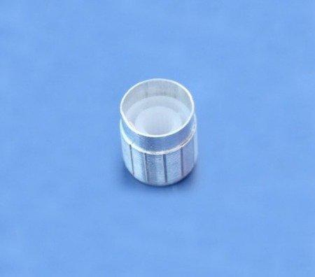 Gałka do potencjometru 16x14mm - aluminiowa - oś 6mm