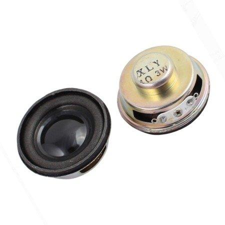 Głośnik mini 3W 4Ohm śr40mm - do projektów DIY, Arduino