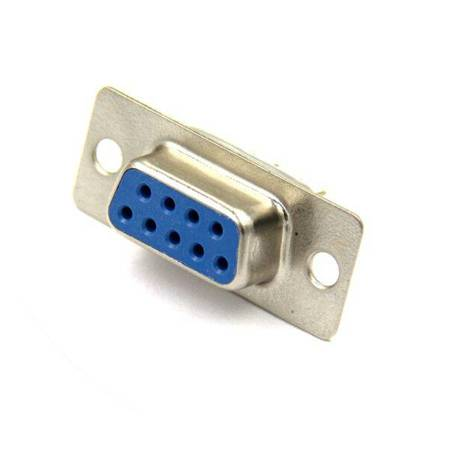 Gniazdo DB9 RS232 D-SUB - Złącze żeńskie 9 pin