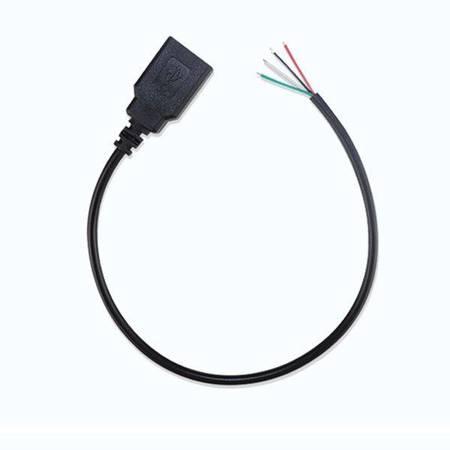 Gniazdo USB z przewodem 30cm - Kabel zasilający USB