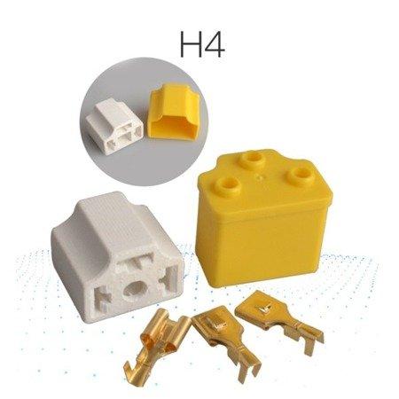 Gniazdo ceramiczne - Złącze żarówki H4 - kostka samochodowa - DIY