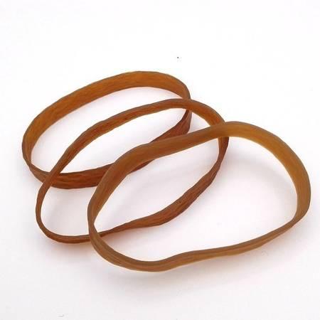 Guma modelarska - pierścień 150 mm - z silikonem - brązowa
