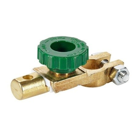 Klema hebel - wyłącznik masy akumulatora - 17mm - odłącznik prądu