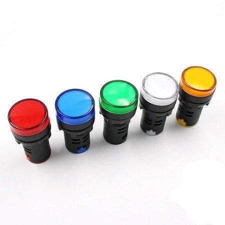 Kontrolka LED zielona - AD16-22DS - lampka sygnalizacyjna