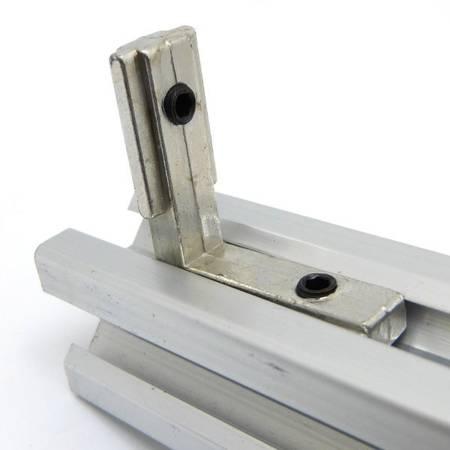 Łącznik kątowy L-Type do profili aluminiowych 2020- M4 - TSLOT, T-NUT, TNUT