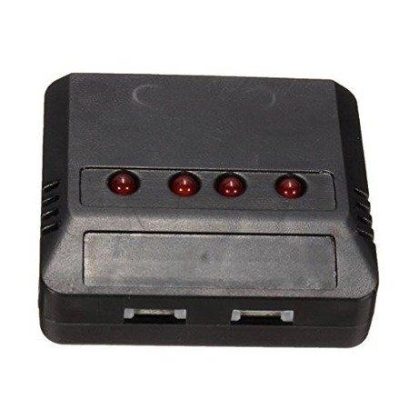 Ładowarka na 5x Lipol 1S 3,7V - wyjścia Molex 51005
