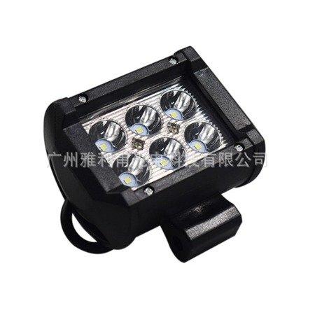 Lampa 6 LED 20W - reflektor halogenowy - oświetlenie pojazdów - szperacz