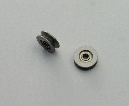 Łożysko pasowe - 3x12x4 oś 3mm - typ V623ZZ - 623VV