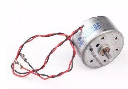 Mały silnik szczotkowy 5V - 25x12,5mm - do budowy robotów i projektów DIY