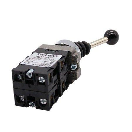 Manipulator Joystik - XP2-PA24 - przełącznik 4-pozycyjny monostabilny