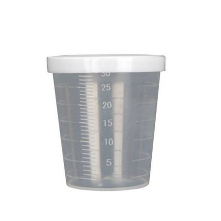 Miarka 30ml - Pojemnik plastikowy z pokrywką