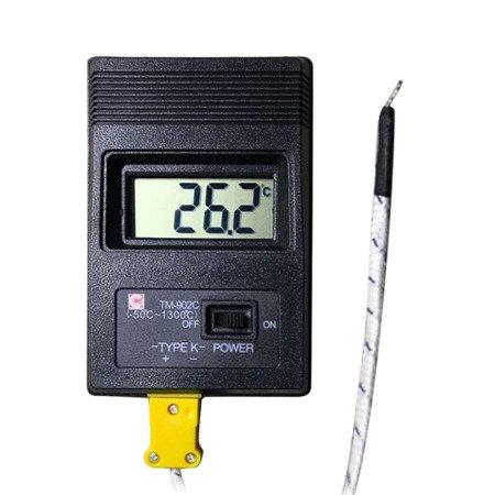 Miernik temperatury TM-902C - Termometr -50°C / 1200°C - termopara typu K