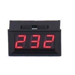 Miernik woltomierz cyfrowy mini 70V - 500V AC - red