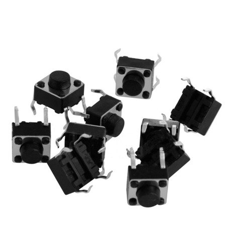 Mikrostyk TACT 6x6x5mm - mikroswitch - 10 szt