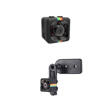 Mini kamera DV SQ11 1080P FULL HD - detekcja ruchu - rejestrator samochodowy