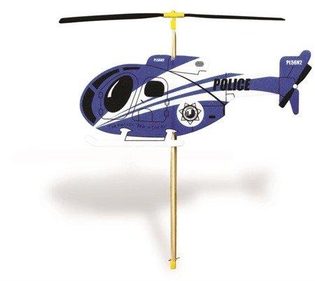 Model Helikoptera z napędem gumowym - latający śmigłowiec dla dzieci - Guillows