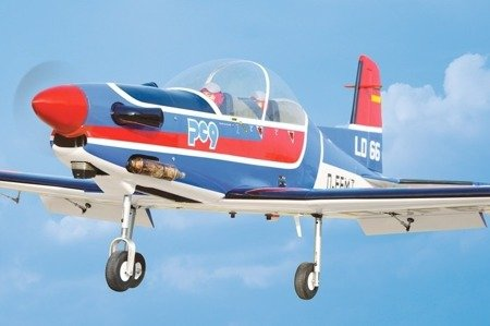 Model Pilatus PC-9 - 1550mm - ARF - Black Horse BH079 #3