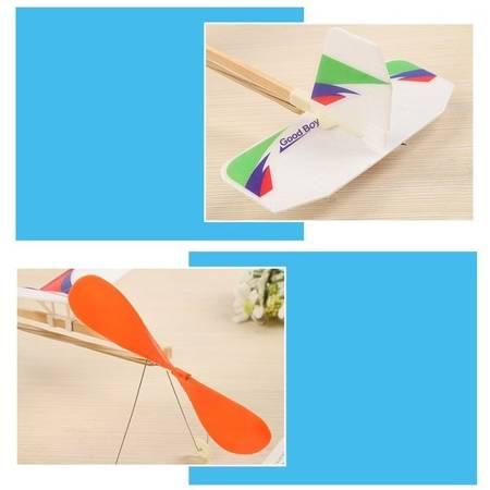 Model gumówki Sky Touch NEW 510mm - samolot z napędem gumowym dla dzieci