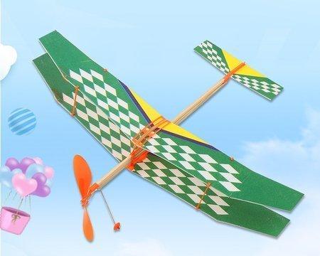 Model z napędem gumowym Sky Touch II 500mm - samolot dwupłatowy