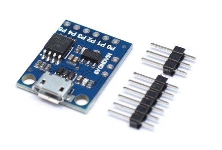 Moduł ATTINY85 Mini - Micro USB - zgodny z Arduino AVR - Digispark moduł sterowania AVR