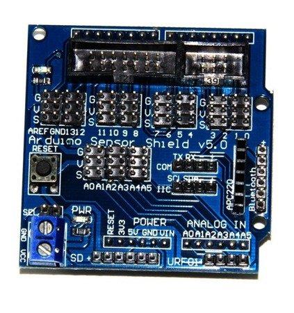 Moduł Arduino Sensor Shield V5.0 do Arduino UNO