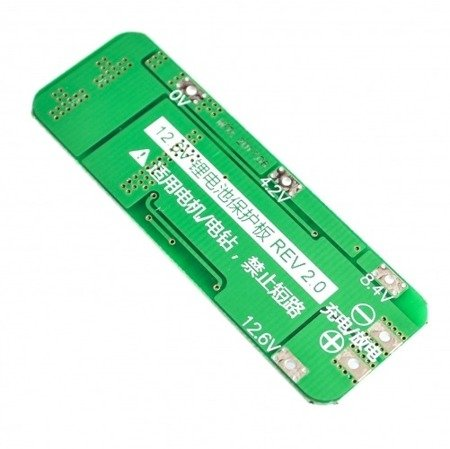 Moduł BMS PCM PCB ładowania i ochrony ogniw Li-ion - 3S - 12V - 20A - do ogniw 18650