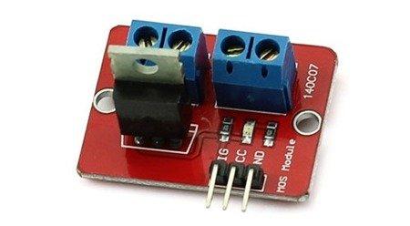 Moduł Regulatora PWM IRF520 - mosfet - do 5A i 24V - sterownik silników DC - Arduino