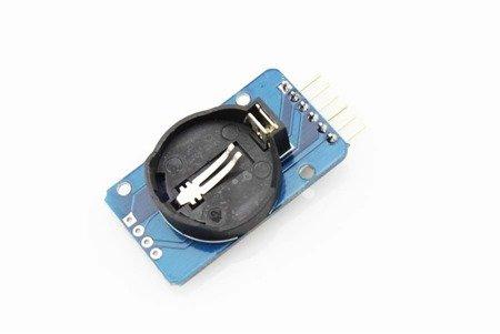 Moduł czasu RTC DS3231 AT24C32 - precyzyjny zegar na I2C z baterią - Arduino