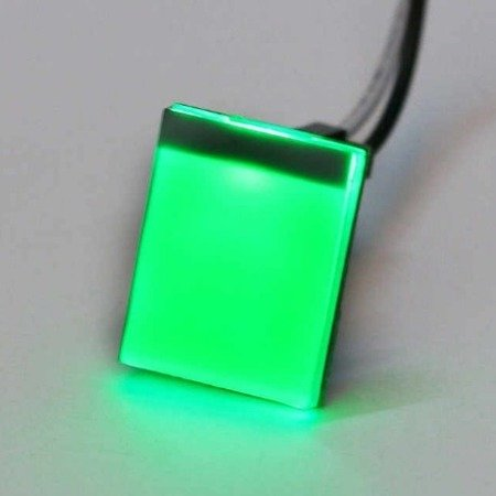 Moduł czujnika dotyku HTTM - podświetlany - zielony - pamięć stanu