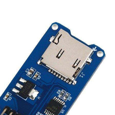 Moduł czytnika kart Micro SD - do ARM AVR PIC - Arduino
