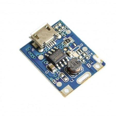 Moduł ładowania i ochrony ogniw 2xUSB 5V - do budowy power-banku, Li-Po, Li-Ion