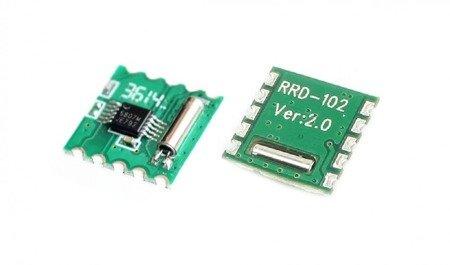 Moduł tuner odbiornik FM RDA5807M - radio RDS Stereo FM - Arduino