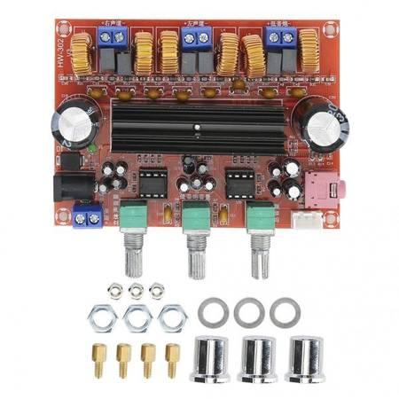 Moduł wzmacniacz mocy TPA3116D2 - 2x50W + 100W Subwoofer - 12-24V DC - XH-M139