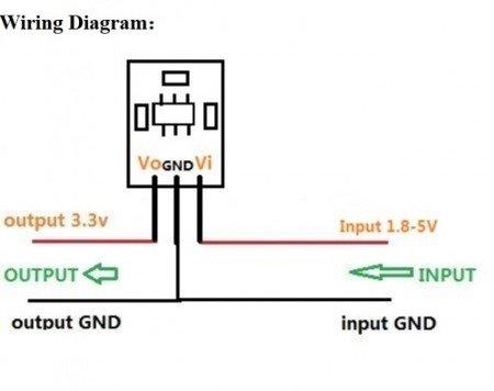 Moduł zasilania mini - Step-Up & Step-Down - 3,3V 100mA  - Arduino