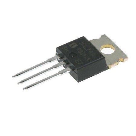 N-MOSFET - tranzystor - IRLZ44 - 50A - 60V -  w obudowie TO-220